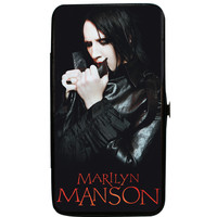 Marilyn Manson Women's Clutching Collar Pose 2 Girls Wallet
