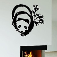 Wall Stickers Panda Animal Bear Kids Room Art Mural Vinyl Decal Unique Gift (ig1954)