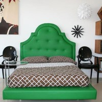 www.roomservicestore.com - Hollywood Bed in Green