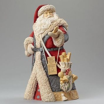 Heart of Christmas Deluxe Santa With Compass-4046824