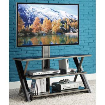 "Whalen 3-in-1 Flat-Panel TV Stand, for TVs up to 50"" - Walmart.com"