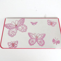 Butterfly checkbook cover