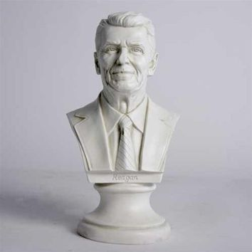 Ronald Reagan American US President Portrait Bust 12H