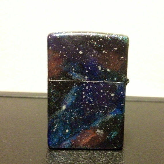 Custom Hand Painted Zippo Lighter By From Galaxyparts On Etsy-9962