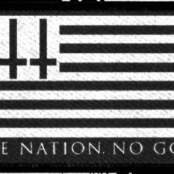 One Nation No God - Patch | Black Craft