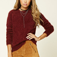 Knit Raglan Sweater