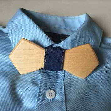 Men Wooden Bow Tie Luxury Bowtie Fashion Wood Casual Business Wedding Party Gift