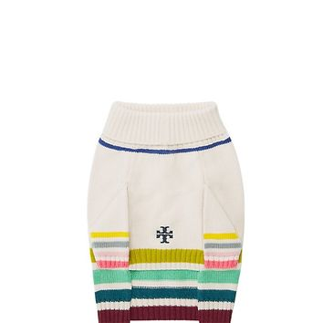 Tory Burch Multi-color Dog Sweater