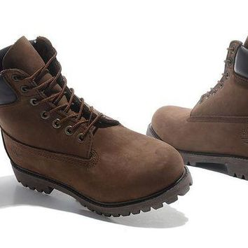 LMF8KY Timberland Rhubarb Boots 2018 Brown Waterproof Martin Boots
