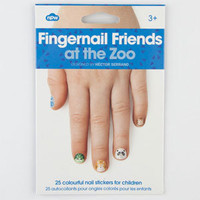 Fingernail Zoo Friends