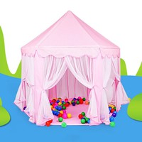 Portable Kids Play Tents Ultralarge Children Beach Tent Baby Fence Girls Princess Castle Indoor Outdoor Toys House Playpens VE0071
