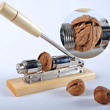 Heavy Duty Pecan Filbert Walnut Nut Hazelnut Hazel Cracker Nutcracker Clamp Plier Sheller Crack almond Kitchen Clip Tool Machine
