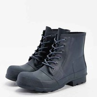 Hunter Original Rubber Lace-Up Boot- Navy