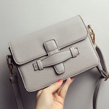 Female Casual High Quality Crossbody Messenger Bags Fashion Women Leather Shoulder Bag Chic Handbag Gift 61