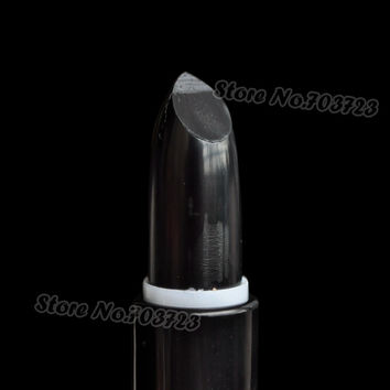 Fashion Black  Lipstick Crazy Kiss of Death Vampire Glam Makeup Stick N10