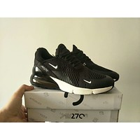 """""""Nike 270"""" Unisex Casual Fashion Multicolor Sneakers Couple Running Shoes"""