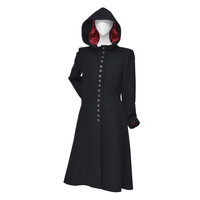 "Alexander McQueen Cape Coat Hooded RUNWAY ""Joan"" 1998/99"