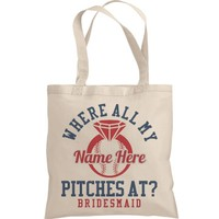 Baseball Bachelorette Gift Bags: This Mom Means Business!