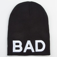 Bad Beanie Black One Size For Women 23247810001