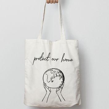 Protect Our Home - Tote Bags