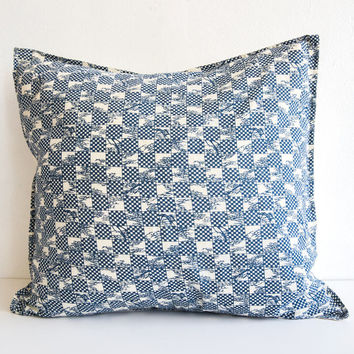 b'sbee rc indigo cushion cover