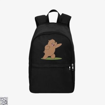 Grizzly Bear Fight, We Bare Bears Backpack