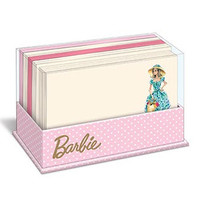 Market Day Barbie Doll Flat Notecards