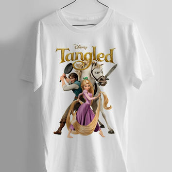 Tangled disney T-shirt Men, Women Youth and Toddler