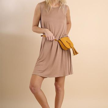 Umgee Sleeveless Dress