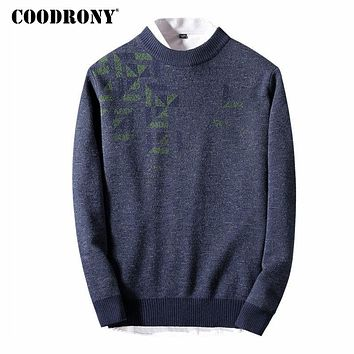 Christmas Sweaters For Winter Thick Warm Cashmere Sweater Men Soft Merino Wool Pullover Men O-Neck Pull Home