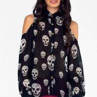 Too Cool for Skull Blouse $52