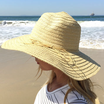 Heads Up Straw Floppy Hat