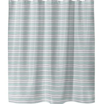 RIP MINT Shower Curtain By Tiffany Wong