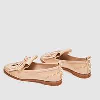 LOAFERS WITH BOW DETAIL DETAILS