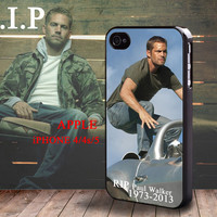 Fast & Furious Paul Walker iphone 4 4S case iphone 5 Case Brian O'Conner 1973 - 2013 RIP