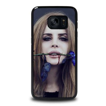 lana del rey samsung galaxy s7 edge case cover  number 1