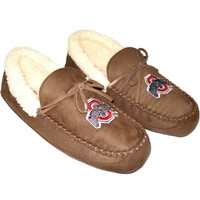 Ohio State Buckeyes House Shoes - Khaki