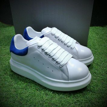 Alexander Mcqueen Sole Sneakers White / Blue