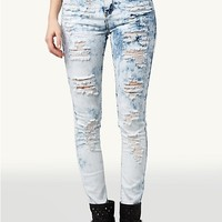 High Waisted Super Skinny Jean