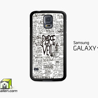 Pierce The Veil Song Lyric Samsung Galaxy S5 Case Cover by Avallen