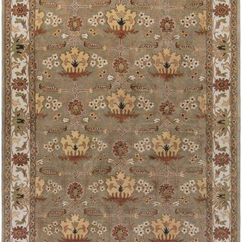 Bungalow Arts and Crafts Area Rug Brown