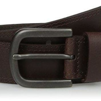 Dickies Men's Two Row Stitch Belt
