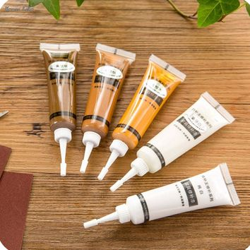 1PC 2.8cm x 10.5cm Solid Wood Furniture Refinishing Paint Floor Color Paste Repair Pen Divine