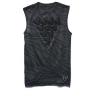 Under Armour Boys' UA Undeniable Gameday Armour Chest Sleeveless Shirt