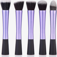 Purple Metallic 5-piece Select Brush Kit