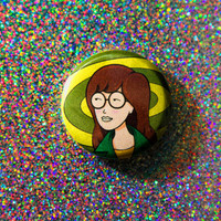 "Daria Pin / 1"" Pinback Button"