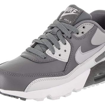 NIKE Kids Air Max 90 LTR (GS) Running Shoe d9e42169f