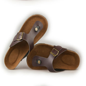 Summer slippers for men and women, 2015 new cork bottom flip-flops, sandals with a couple