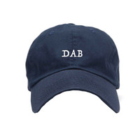 Any Memes Dab Dad Hat In Navy