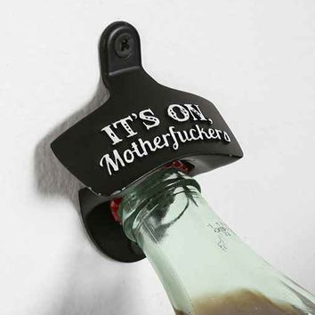 Wall-Mounted Bottle Opener- Assorted One